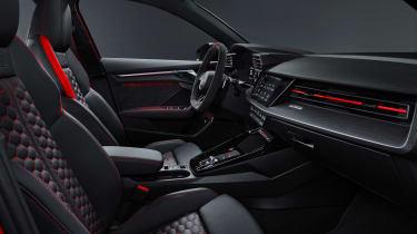 Audi RS 3 Sportback - front seats