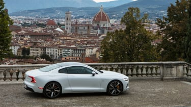 New Polestar 1 2020 review side
