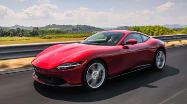 Ferrari Roma - front n/s tracking