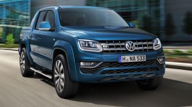 Volkswagen Amarok V6 - front tracking 2