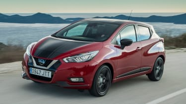 Nissan Micra 2017 petrol - front tracking