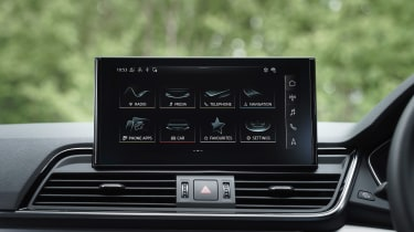 Audi Q5 Sportback - infotainment
