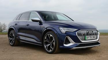 Audi e-tron S - front static