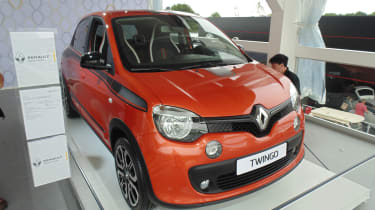 Renault Twingo GT - Goodwood front quarter 2