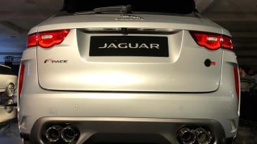 Jaguar F-Pace SVR - launch full rear