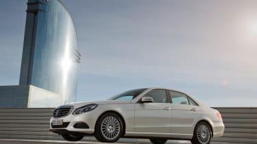 Mercedes E-Class side