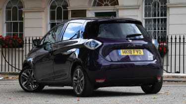 Renault ZOE R110 - rear static