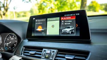 BMW X1 review - interior dash