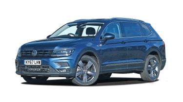 VW Tiguan Allspace - front