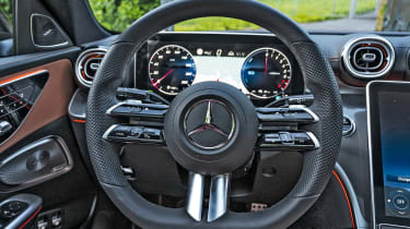 Mercedes C-Class - steering wheel