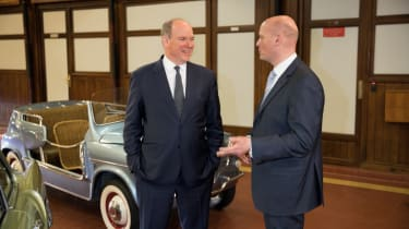 Prince Albert II and the Fiat 600 Jolly