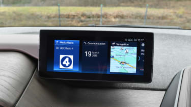 BMW i3 screen