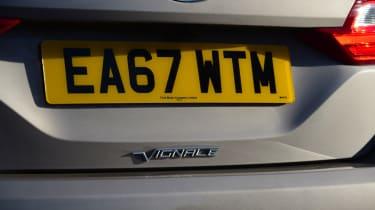 Ford Fiesta Vignale rear end