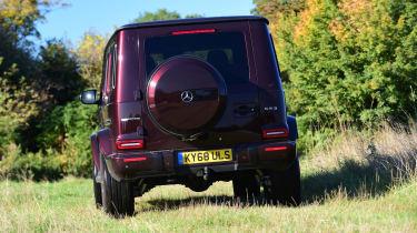 Mercedes G-Class - rear off-road