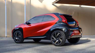 Toyota Aygo X prototype - rear