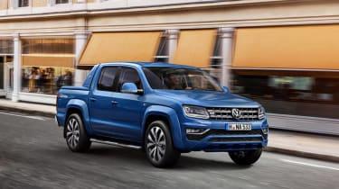 Volkswagen Amarok facelift - front three quarter