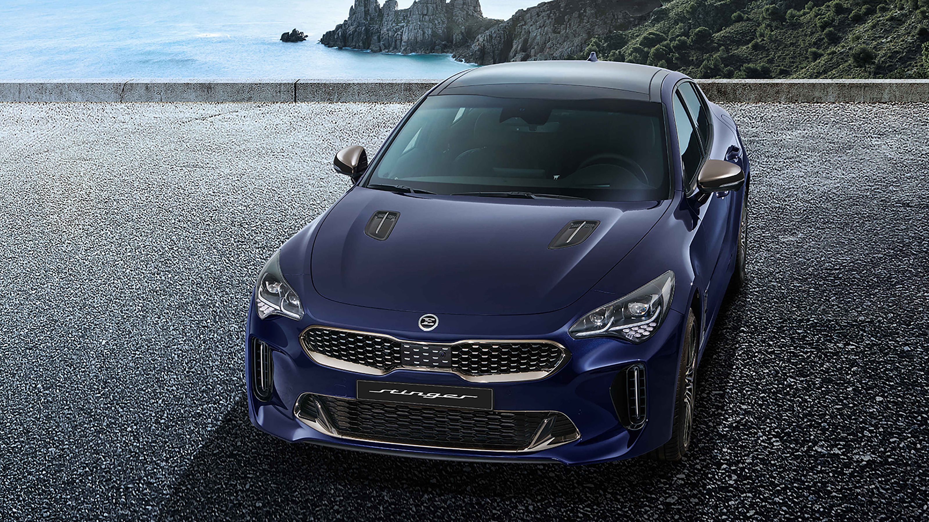 new 2021 kia stinger facelift revealed with new look and
