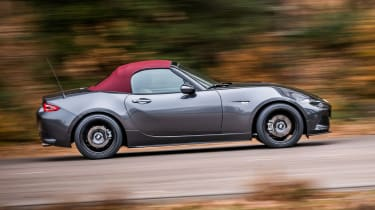New Mazda MX-5 Z-Sport 2018 review - side