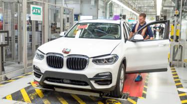 BMW SUVs feature - BMW X3 final checks