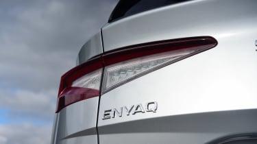 Skoda Enyaq iV 80 - rear lights