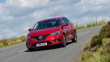 Renault Megane diesel - front panning