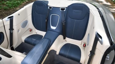 Aston Martin DB11 Volante - rear seats
