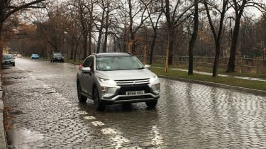 Mitsubishi Eclipse Cross long termer - front action Poland