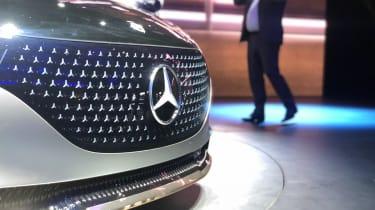 Mercedes EQS - grille