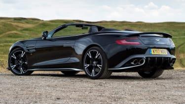 Aston Martin Vanquish S Volante - parked rear