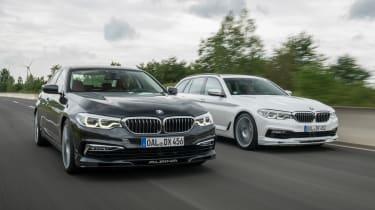 BMW Alpina D5 S and BMW Alpina D5 Touring - front