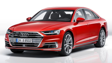 New Audi A8 unveiled - front