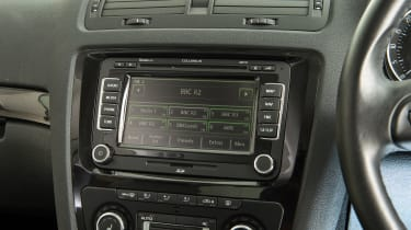 Used Skoda Octavia - infotainment screen