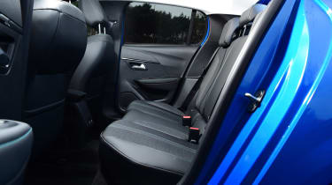 Peugeot 208 - rear seats