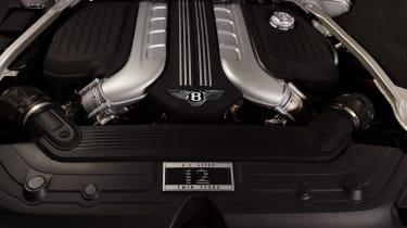 Bentley Continental GTC - studio engine