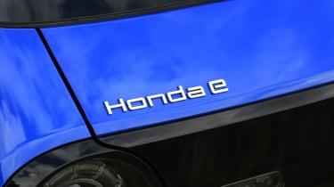 Honda e - badge