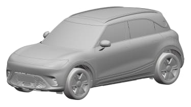 Smart SUV - design patent front