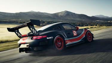 Porsche 911 GT2 RS Clubsport - rear tracking