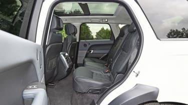 Used Range Rover Sport - rear seats