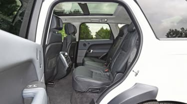 Used Range Rover Sport - rear seats