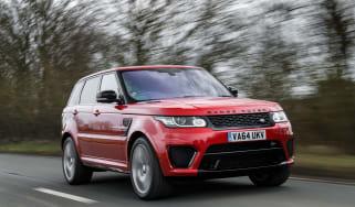 Range Rover Sport SVR - tracking