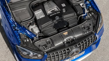 Mercedes-AMG GLE 63 S - engine