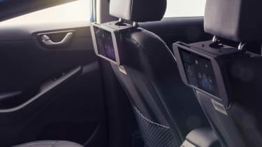 Hyundai Ioniq autonomous - rear seats