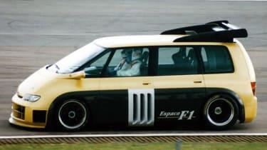 Renault Espace F1 - side