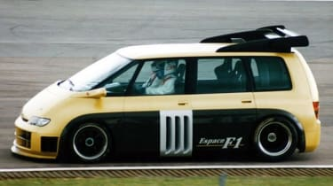 Renault Espace F1 - side