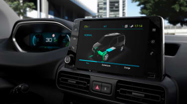 Peugeot e-Partner - screen