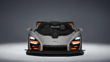 Lego McLaren Senna - front