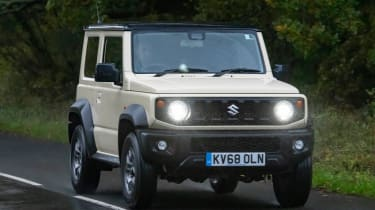 Suzuki Jimny - long term test - front tracking