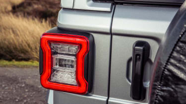 Jeep Wrangler  - rear lights