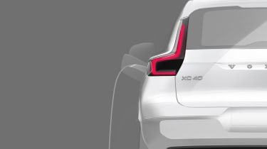 Volvo XC40 EV teaser - charging
