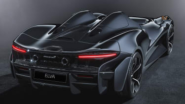 McLaren Elva - rear